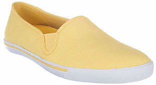 Liz Claiborne New York Slip-On Canvas Sneakers $16.59 thestylecure.com