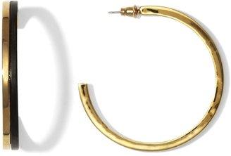 Vince Camuto Wood Hoop Earrings