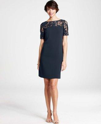 Ann Taylor Lace Cutout Dress