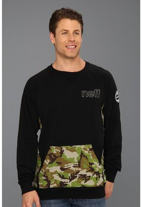 Neff Sharp Squad Sweatshirt (Black) - Apparel