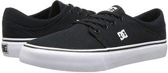DC Trase TX (Black/White) Skate Shoes
