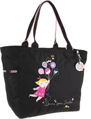 Le Sport Sac Picture Tote with Charm