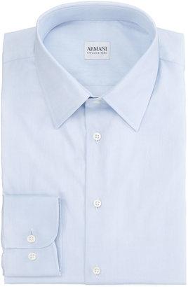Armani Collezioni Modern Fit Dress Shirt, Blue