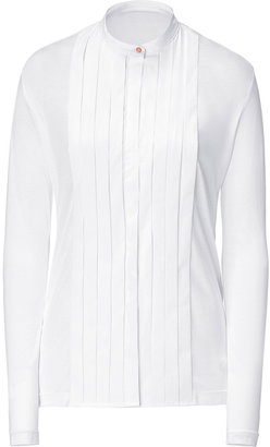 Paul Smith White Pleated Top