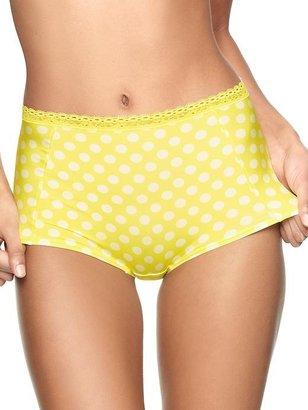 Gap Satin dot high-waist bikini