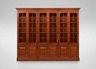 Ethan Allen Villa Triple Library Bookcase