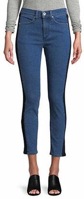 Rag & Bone Mazie Tuxedo Skinny Jeans