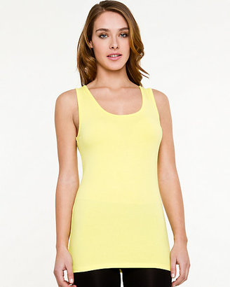 Le Château Essential Cotton Blend Scoop Neck Tank Top