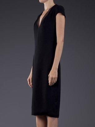 Cushnie et Ochs Viscose W/ Organza Dress