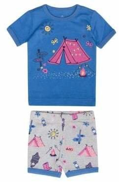 Petit Lem Little Girl's Summer Camp Pyjamas