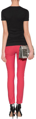 Faith Connexion Rose/Coral Ultra Light Skinny Jeans