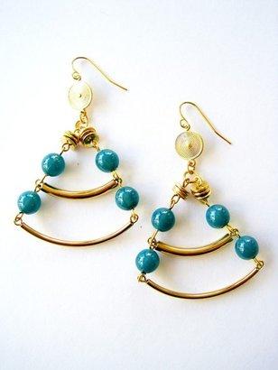 K. Amato Beaded Swing Earrings