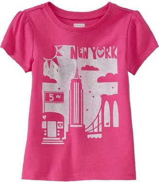 Old Navy Graphic Crew-Neck Tees for Baby