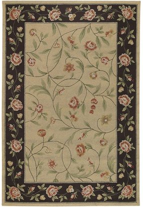 """Couristan catesby garden floral rug - 7'6"""" x 10'9"""""""