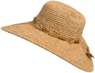 Tommy Bahama Big Brim Hat - Crochet Raffia (For Women)