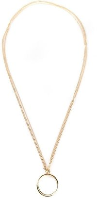 Chloé lariat necklace