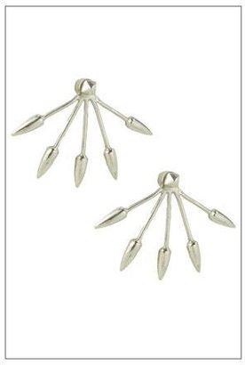 Pamela Love Five Spike Stud Earrings in Sterling Silver