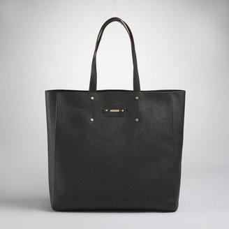 Jones New York Park Avenue Horizontal Leather Shopper