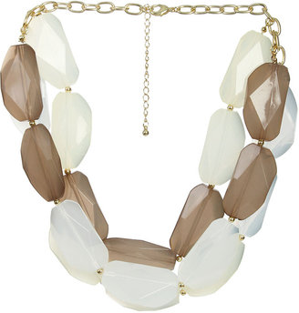Arden B Lucite Stone Necklace