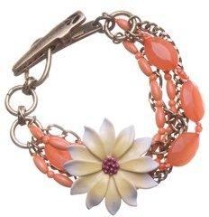 Lucky Brand Beaded Clip Bracelet