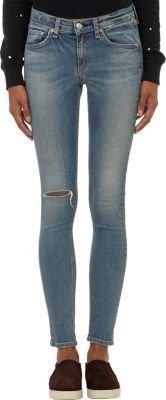 Rag and Bone Rag & Bone Distressed Skinny Jeans