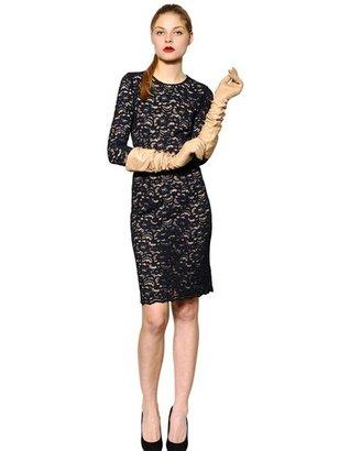 Jo No Fui Vintage Stretch Lace Dress