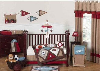 JoJo Designs Sweet All Star Sports Crib Bedding Collection