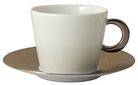Bernardaud Ecume Platinum Tea Cup