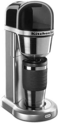 KitchenAid Personal Single Serve Coffee Maker, Silver