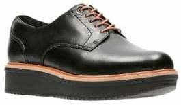 Clarks Theadale Rhea Slip-On Leather Oxford