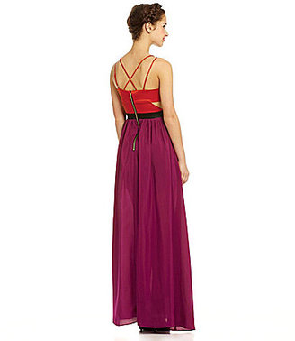 XOXO Cut-Out Maxi Dress