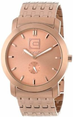 Rockwell Time Unisex CT106 Cartel -Plated Stainless Steel Watch