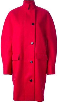 Balenciaga wool cocoon coat