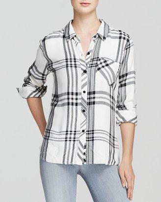 Rails Shirt - Hunter Plaid $138 thestylecure.com