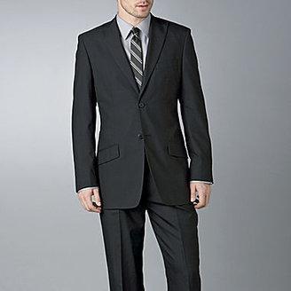 JCPenney JF J. Ferrar® Black Herringbone Suit Separates