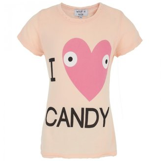 Wildfox Couture I Heart Candy Tee
