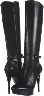 KORS Callidora (Black Smooth Calf) - Footwear