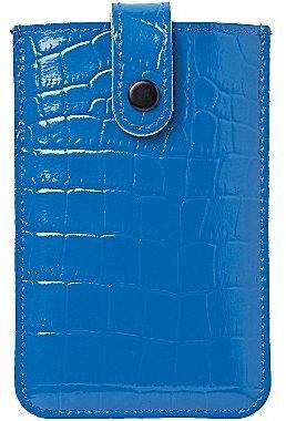 JCPenney ORDNING&REDA® Bibbi Croc-Embossed Leather Phone Holder