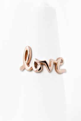 Jacquie Aiche Jewelry Love Ring Vermeil