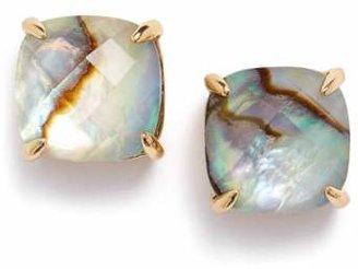 Women's Kate Spade New York Mini Small Square Semiprecious Stone Stud Earrings