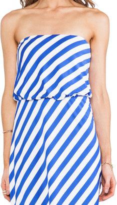 """Susana Monaco Stripe Supplex Tube 40"""" Dress"""