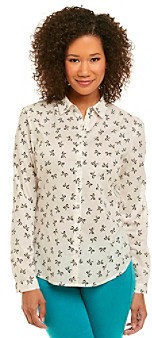 Relativity Casual Button Front Shirt