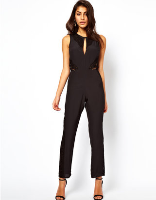 Asos Jumpsuit with Lace Inserts