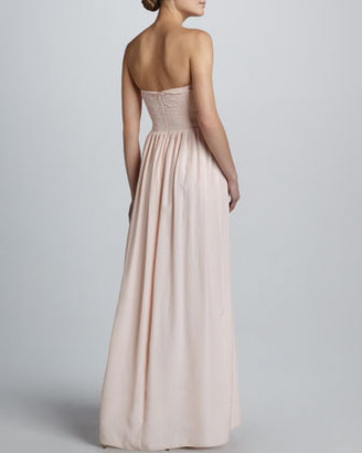 Parker Bayou Silk Maxi Dress