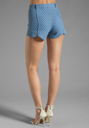 Dolce Vita Anouk Denim Star Short