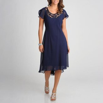 SL Fashions Women's Novelty Evening Dress $74.99 thestylecure.com