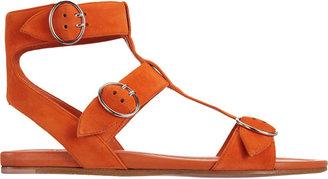 Prada Triple Strap Gladiator Sandal