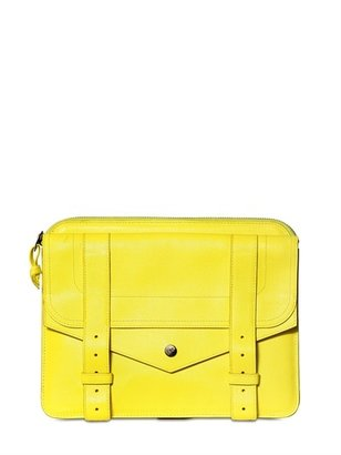 Proenza Schouler Ps1 Lux Leather Large Pouch Clutch