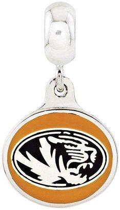 Collegiate Bead Company Sterling Silver University of Missouri Dangle Bead