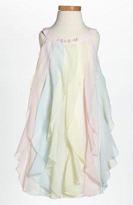 Biscotti Chiffon Trapeze Dress (Little Girls) Pink Multi 4